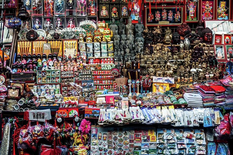 Beijing Photograph - Beijing Souvenirs by Ian Robert Knight