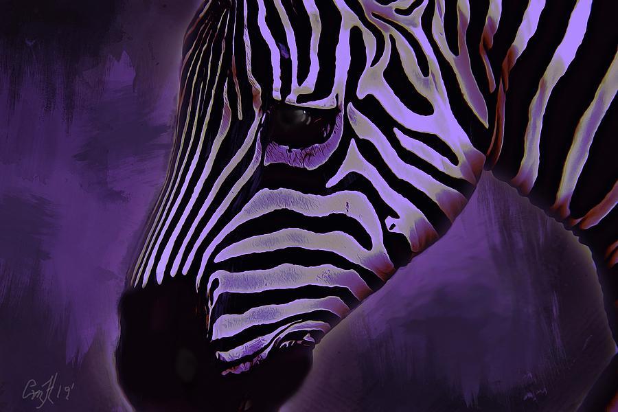 Being Unique- Zebra by Christina M Hale