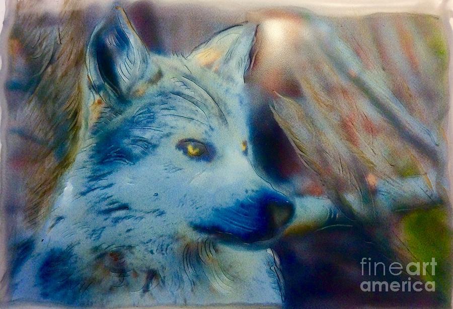 Being Wolf by FeatherStone Studio Julie A Miller