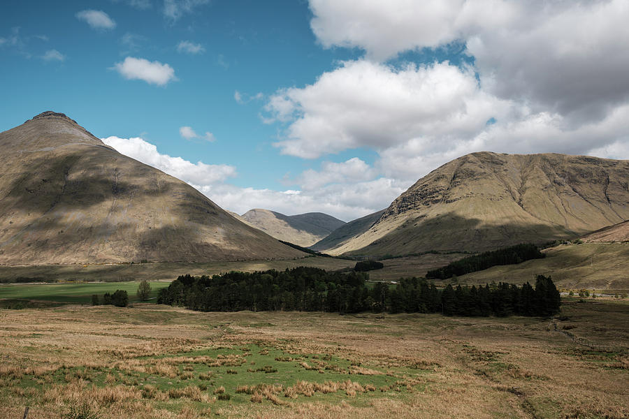 Beinn Dorain And Beinn Achaisteil In Highlands Of Scotland Photograph