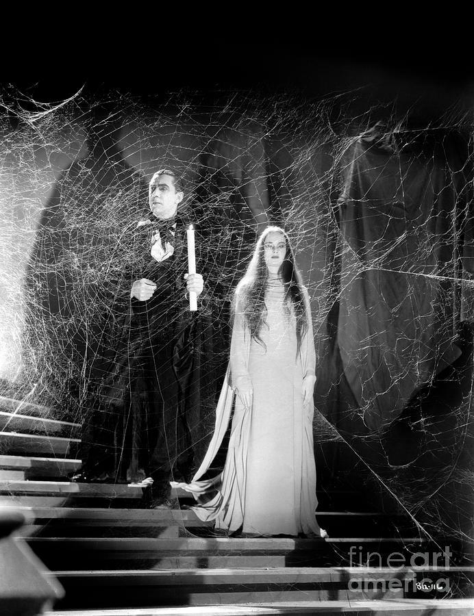 Bela Lugosi - Carroll Borland - Mark Of The Vampire Photograph