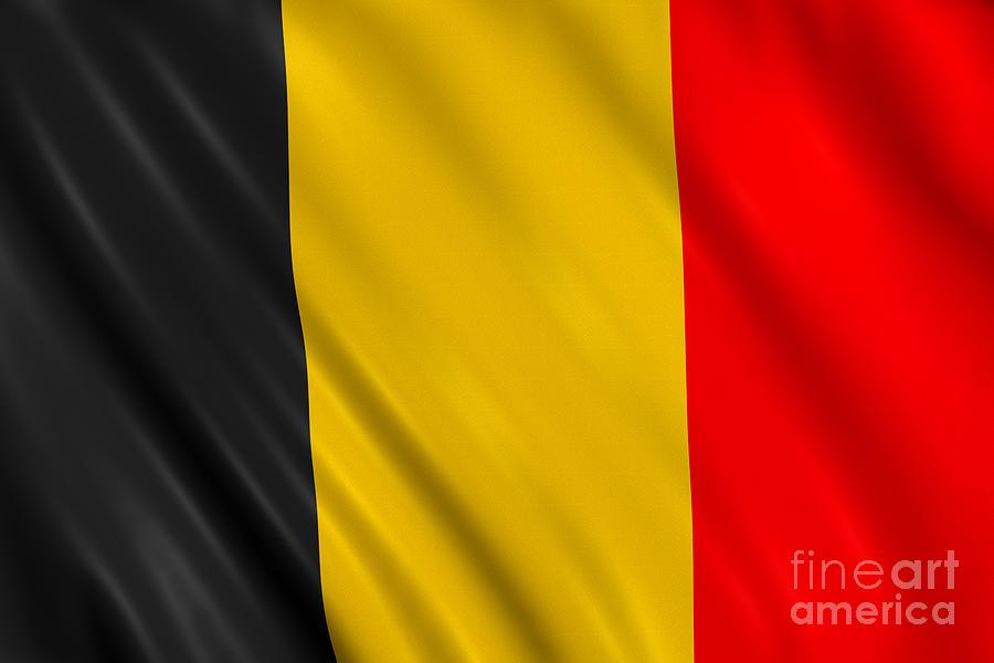 Belgium Flag Photograph by Visual7