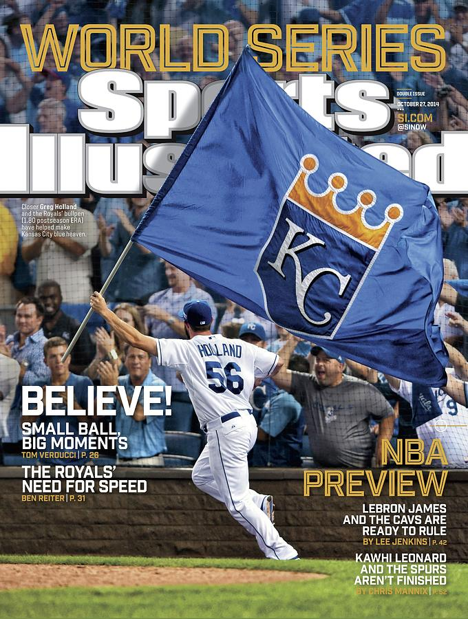 Believe 2014 World Series Preview Issue Sports Illustrated Cover Photograph by Sports Illustrated