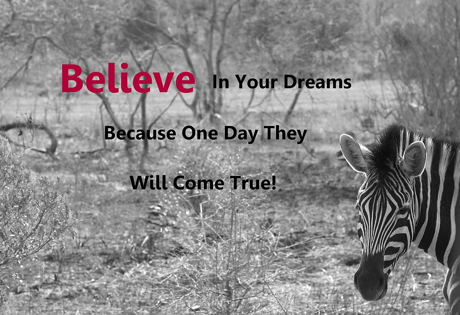 Believe In Your Dreams by Fiona Kennard
