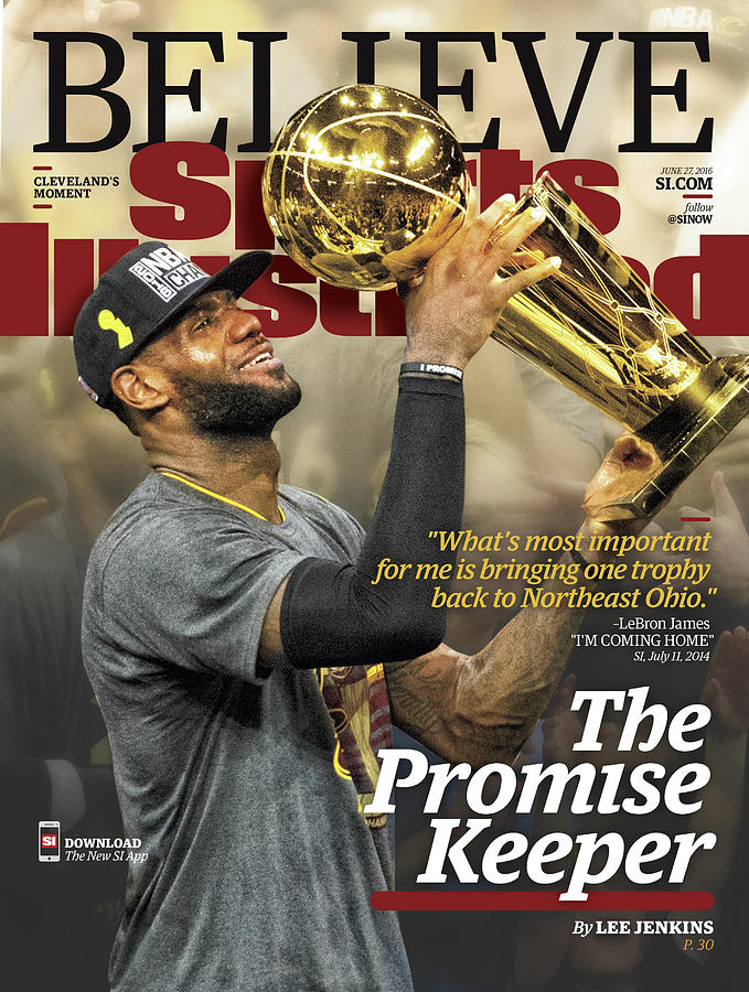 Believe The Promise Keeper Sports Illustrated Cover Photograph by Sports Illustrated