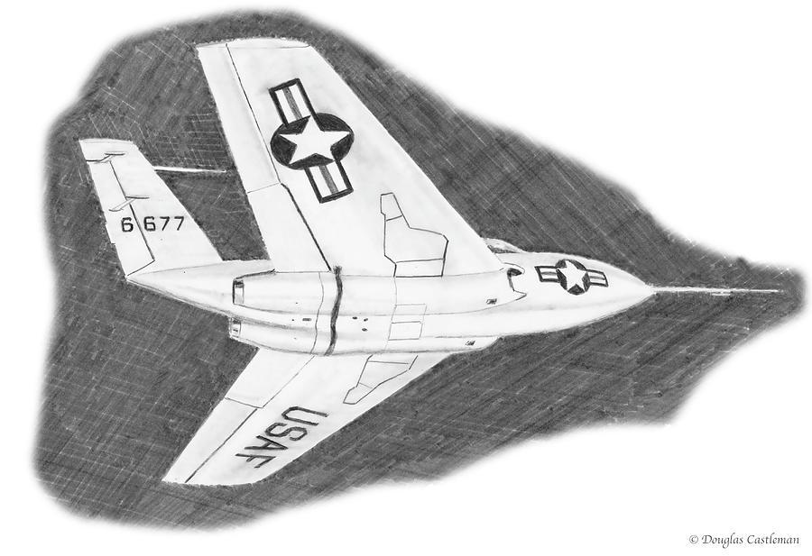 Bell X-4 by Douglas Castleman