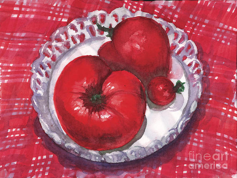 Bella Tomatoes by Amy Stielstra