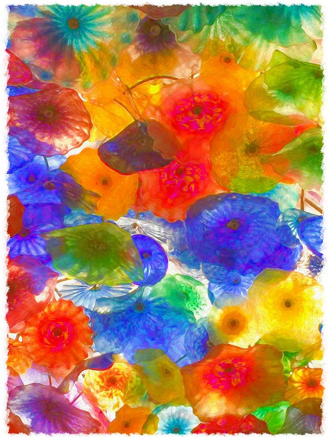 Bellagio Glass Flowers by Bonnie Follett