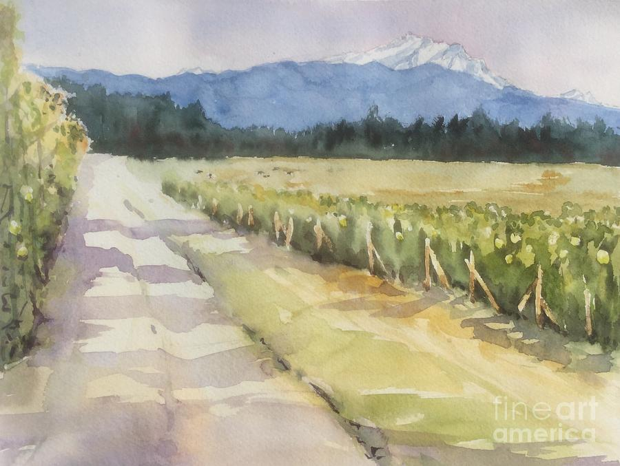 Lynden Painting - Bellewood Acres, Lynden by Yohana Knobloch