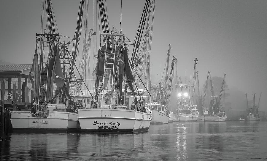 Bellville Fleet in the fog by Kenny Nobles