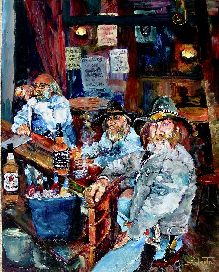Belly up to the Bar Boys by Bonny Roberts