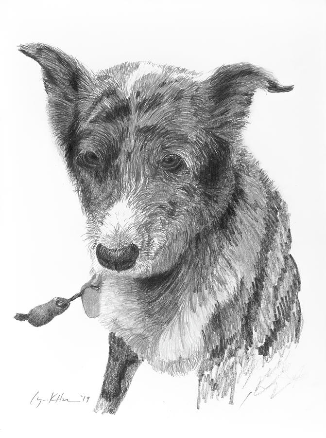 Beloved Pet Dog by Lynn Hansen