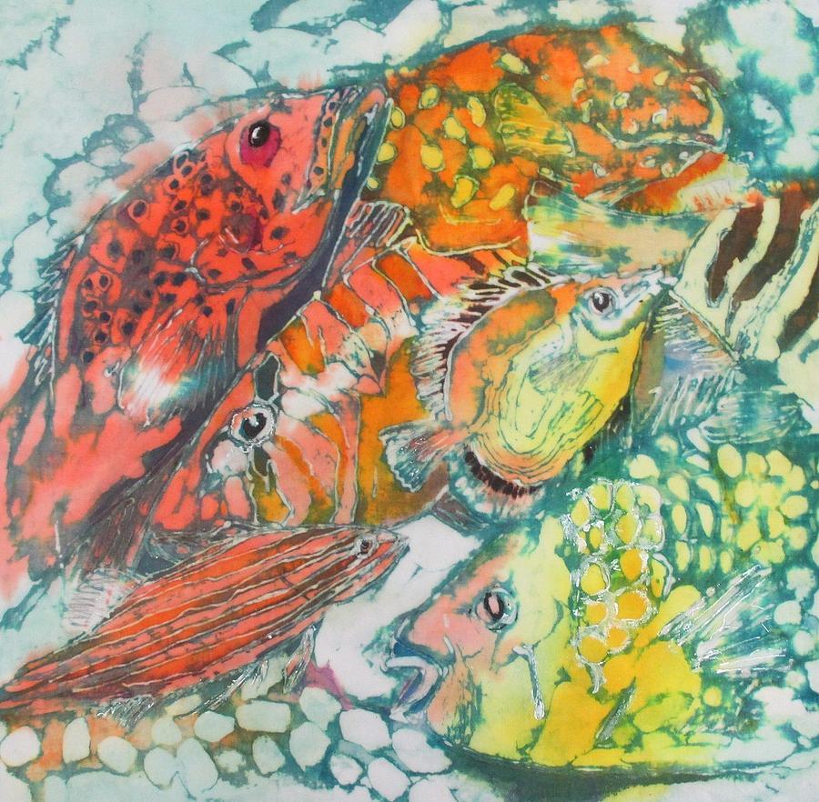 Below the Sea 1 by Jennifer Raby