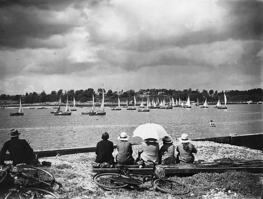 Bembridge Regatta Photograph by G. Adams