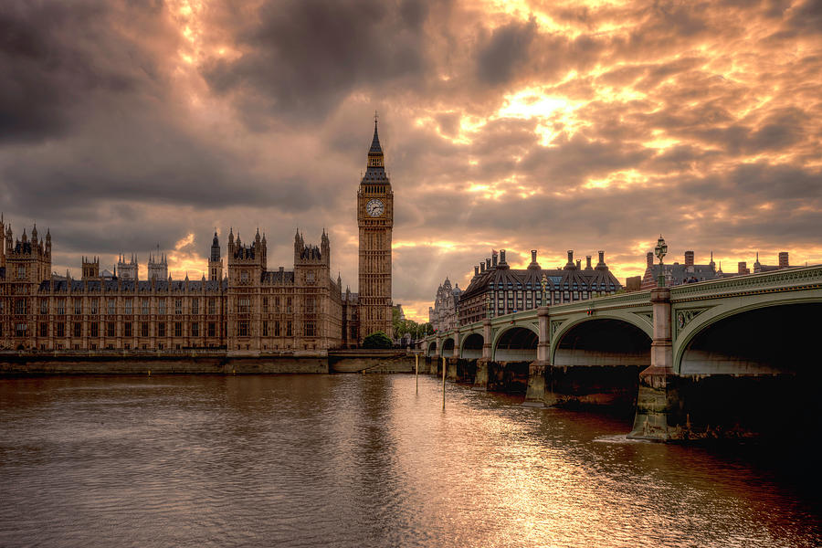 Westminster Bridge To Time by Thomas Gaitley