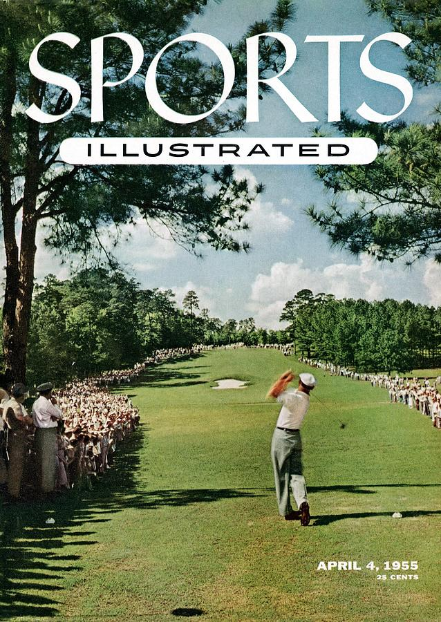 Magazine Cover Photograph - Ben Hogan, 1954 Masters Tournament Sports Illustrated Cover by Sports Illustrated