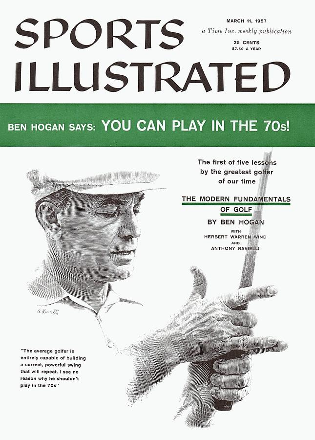 Ben Hogan Golf Tips Sports Illustrated Cover Photograph by Sports Illustrated