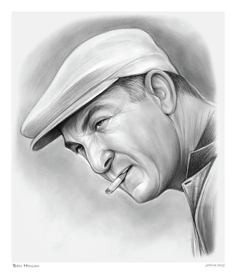 Ben Hogan Drawing
