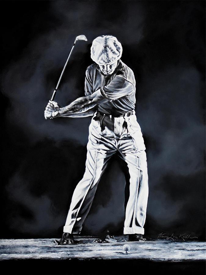 Ben Hogan Swing 2 Painting