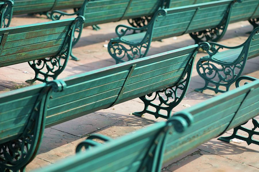 Benches Photograph by Dominik Eckelt
