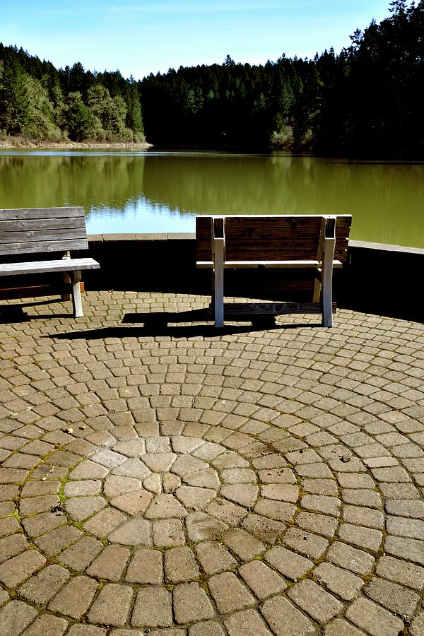 Benches On Tilicum Lake Single by Jerry Sodorff