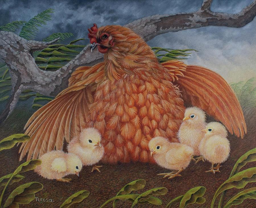 Beneath my Wings by Teresa Frazier