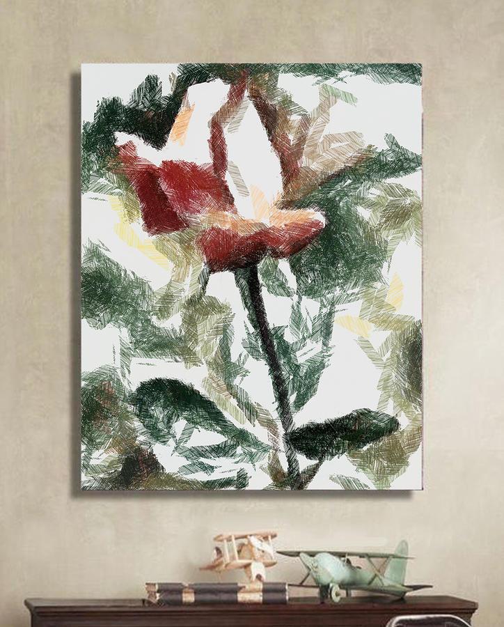 Beneficial Rose by Mario Carini