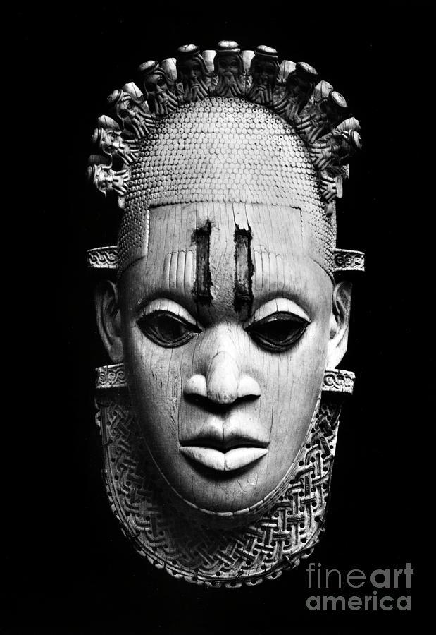 BENIN IVORY MASK by Granger