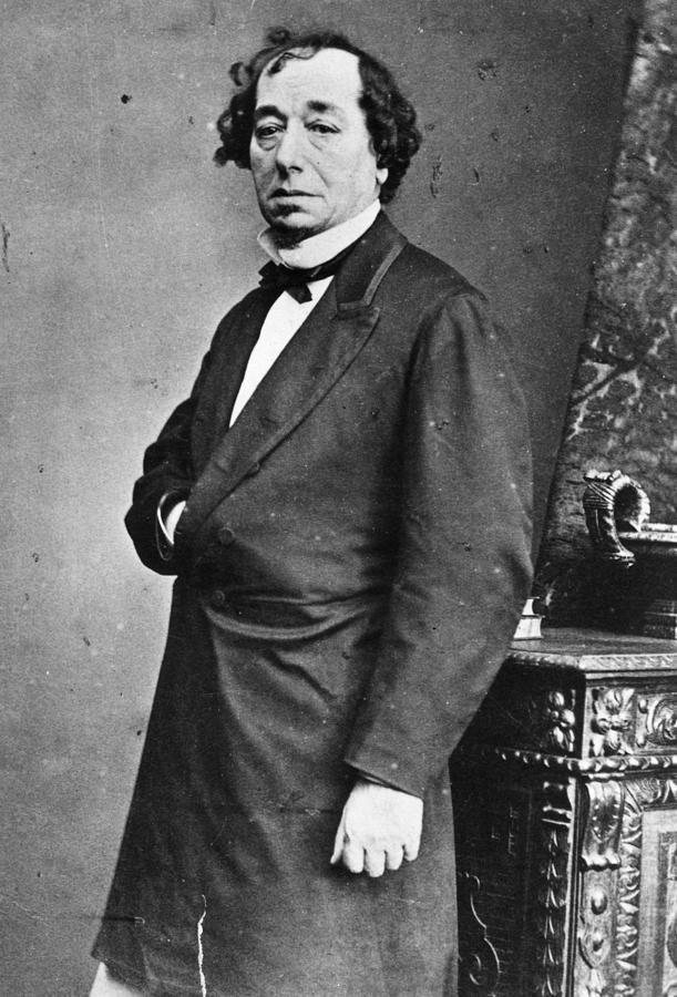 Benjamin Disraeli Photograph by General Photographic Agency