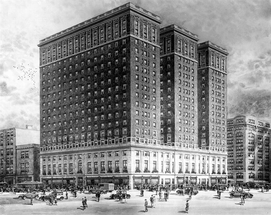 Benjamin Franklin Hotel by James Dillon