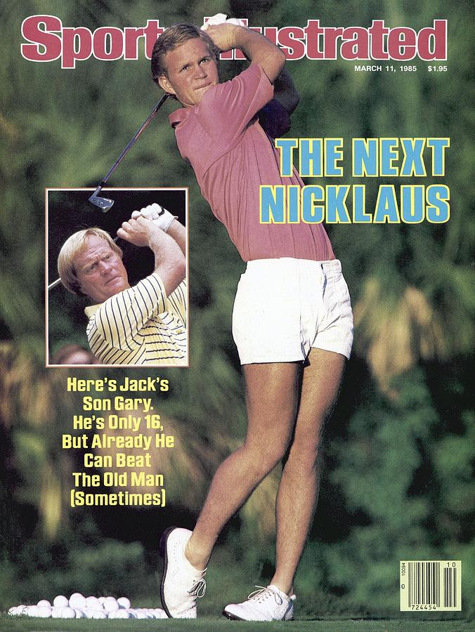Benjamin Schools Gary Nicklaus Sports Illustrated Cover Photograph by Sports Illustrated