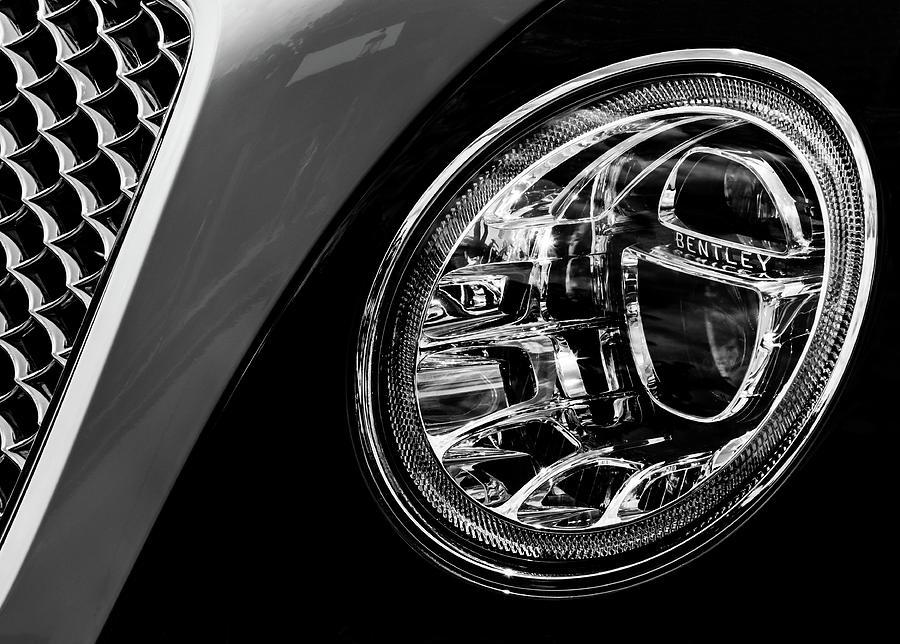 Bentley Bentayga Headlight by Lauri Novak