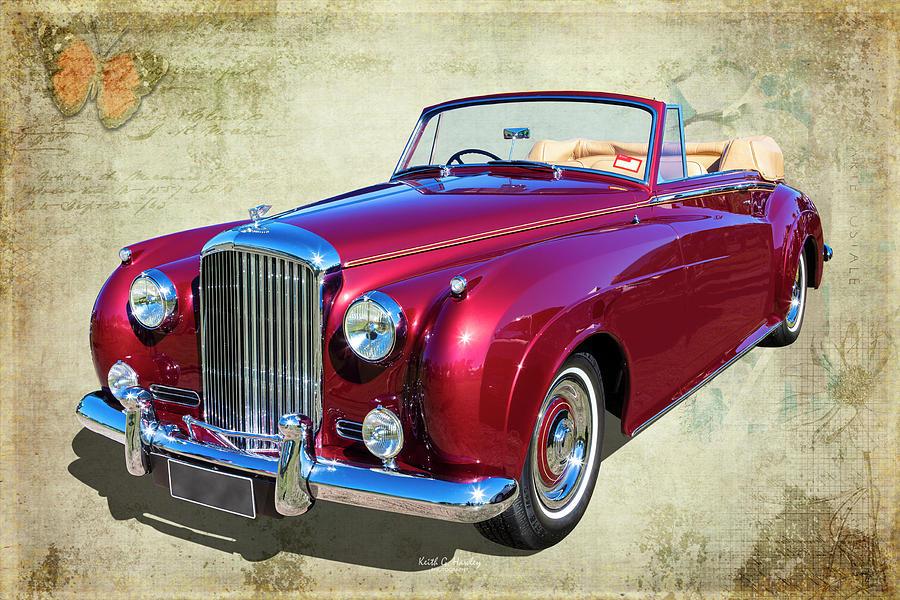 Bentley Convertible by Keith Hawley