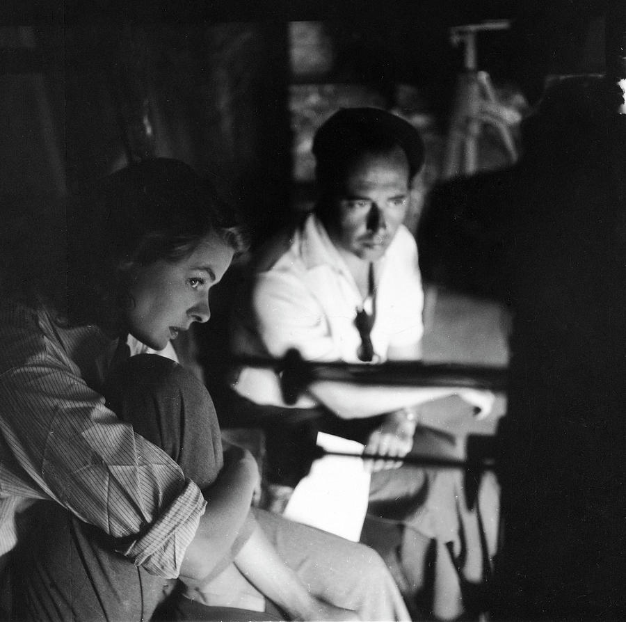 Bergman & Rossellini In Italy For Photograph by Gordon Parks