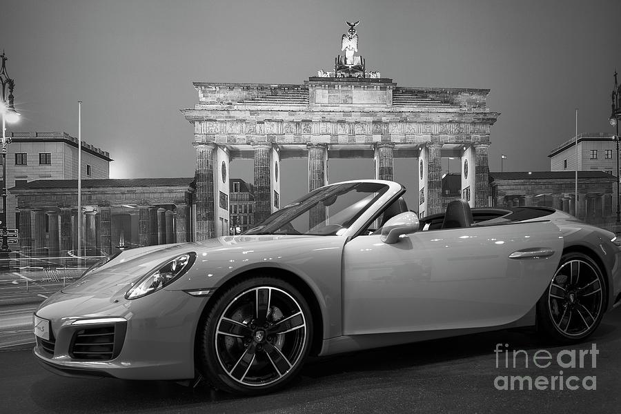 Berlin Bw - Porsche Car Photograph