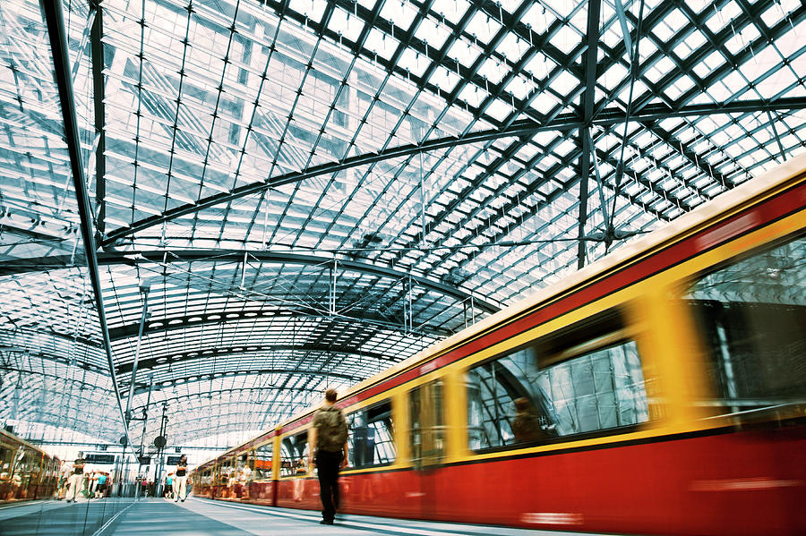 Berlin Metro Photograph by Nikada