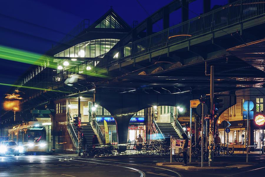 Berlin - Prenzlauer Berg - U-Bahn Station Eberswalder Strasse by Alexander Voss