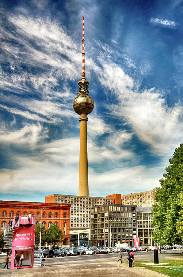 Berlin Television Tower by PAUL COCO