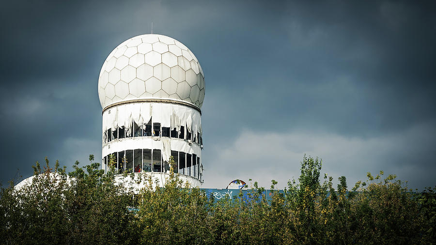 Berlin Photograph - Berlin - Teufelsberg Listening Station by Alexander Voss