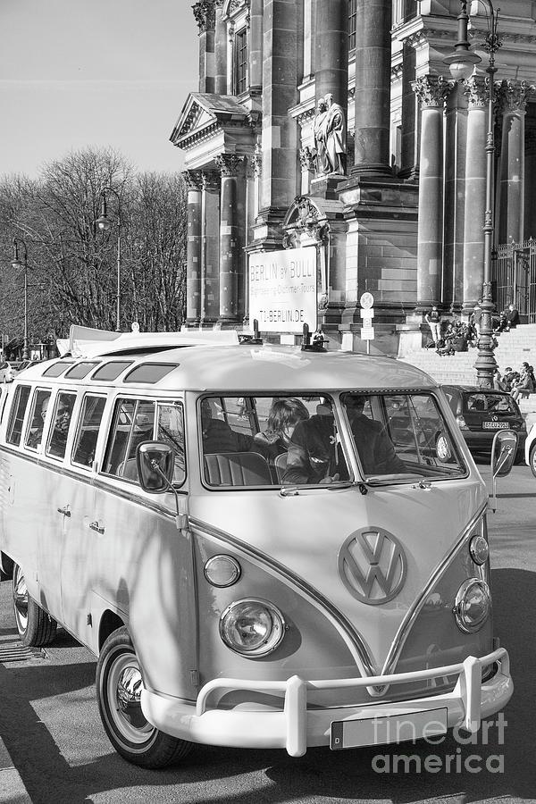 Berlin - Volkswagen Camper Photograph