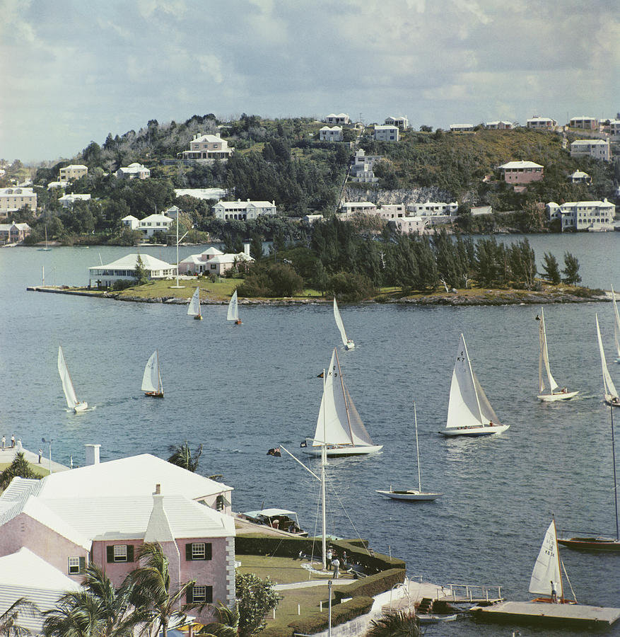 Bermuda View Photograph by Slim Aarons