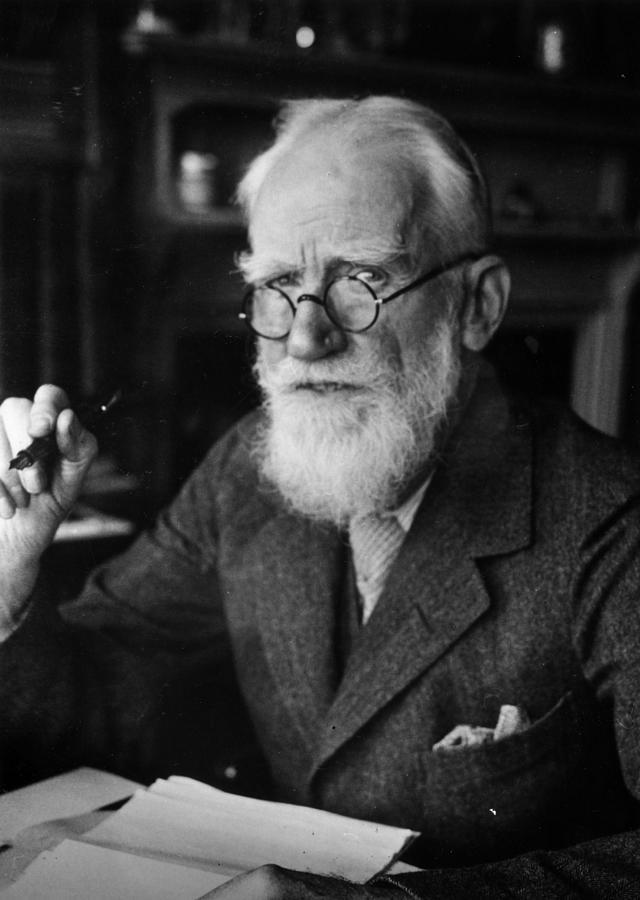 Bernard Shaw Photograph by Hulton Archive