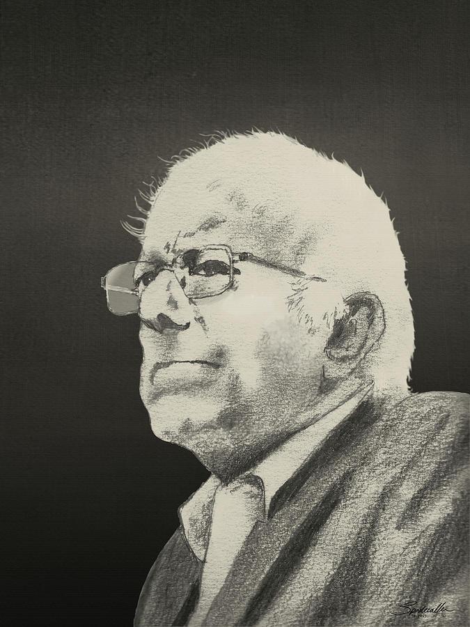 Bernie Sanders Portrait by Spadecaller
