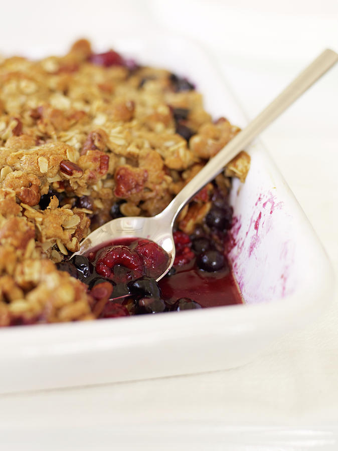 Berry Crumble Photograph by James Baigrie