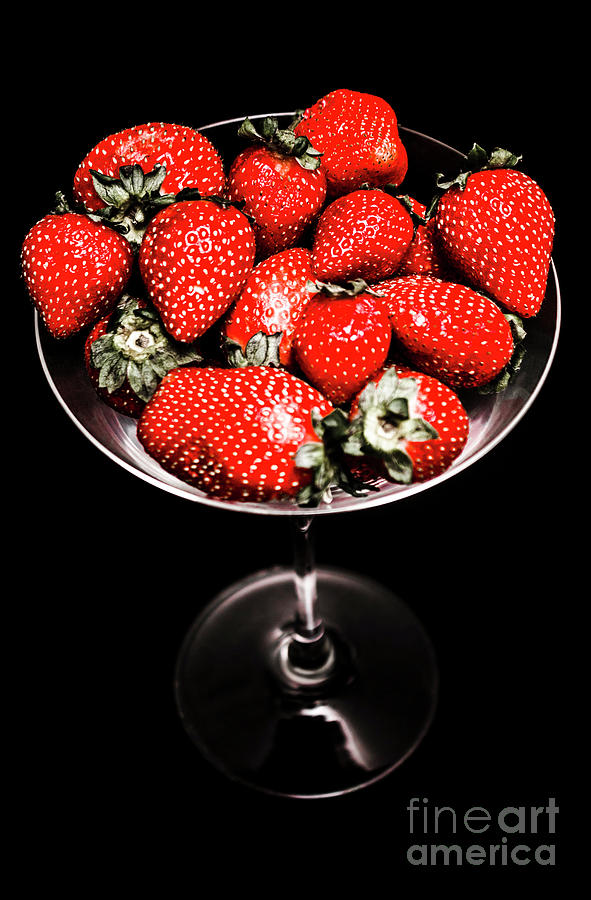 Food Photograph - Berry Tonic by Jorgo Photography - Wall Art Gallery