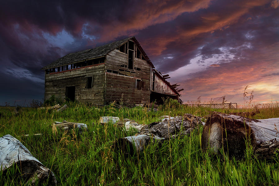 Abandoned Photograph - Beside you in time  by Aaron J Groen