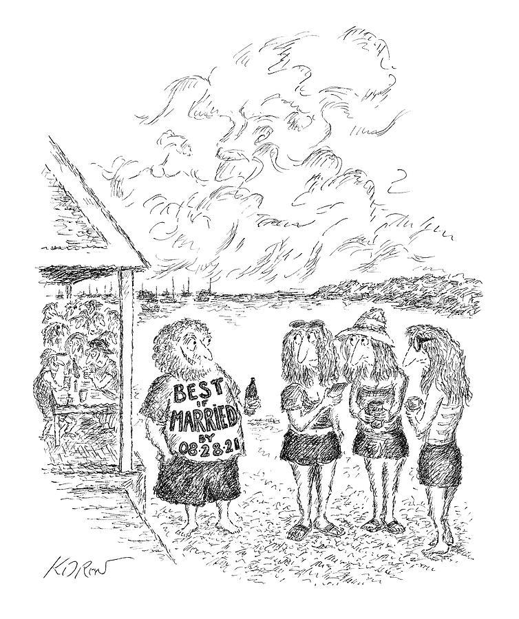 Best If Married By Drawing by Edward Koren