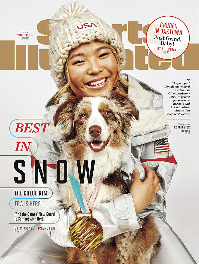 Best In Snow The Chloe Kim Era Is Here Sports Illustrated Cover Photograph by Sports Illustrated