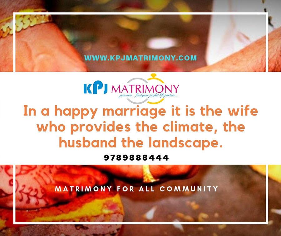 Best Matrimony In Chennai by Kpj Matrimony
