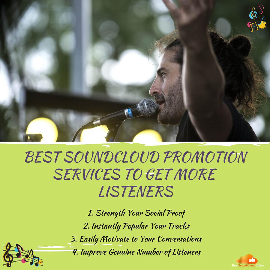 Best Soundcloud Promotion Services To Get More Listeners